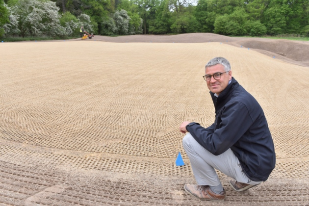 Peter Todd, Estates Manager, Royal Norwich Golf Club