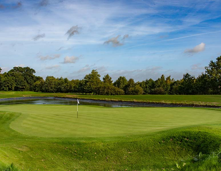 17th Hole at new course