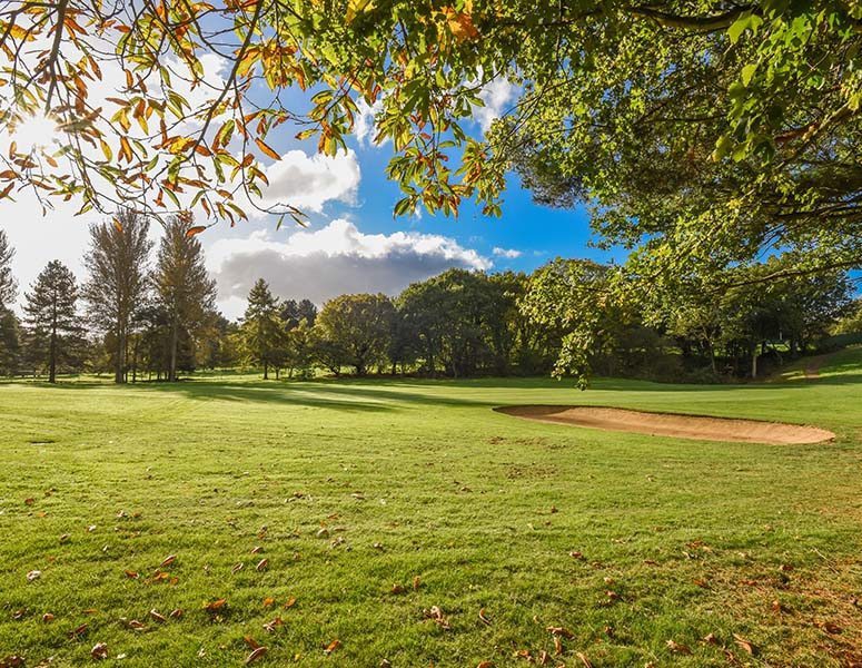 Autumn golf at Royal Norwich