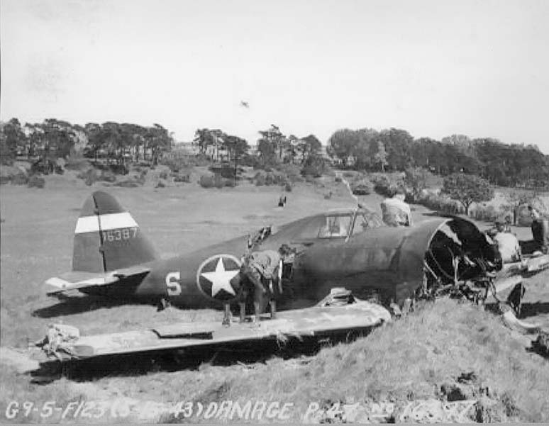 WW2 plane crashed at Royal Norwich