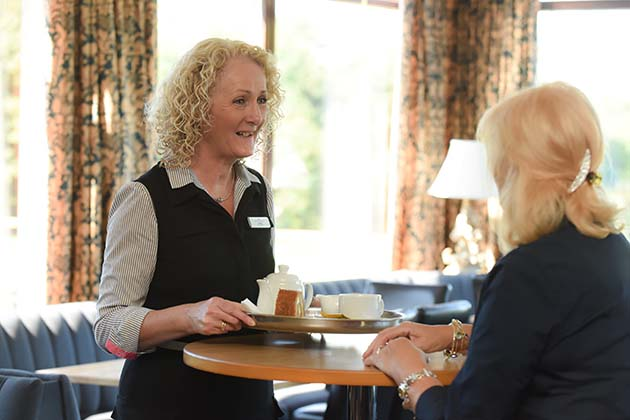 Lesley Smith - Front of House Manager