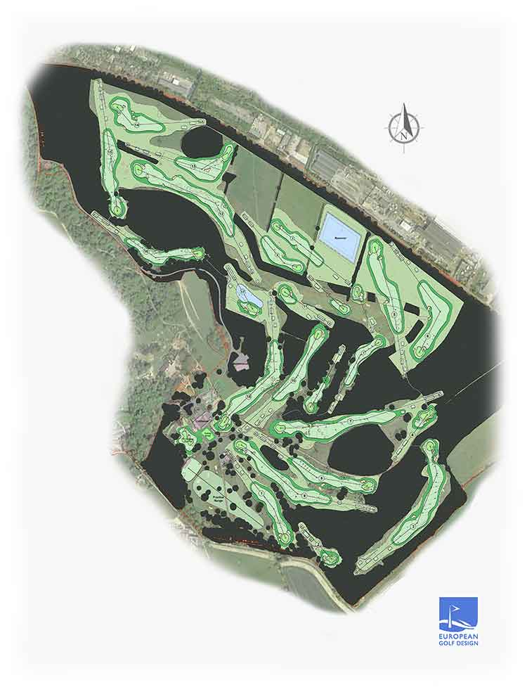 Royal Norwich New Course Layout