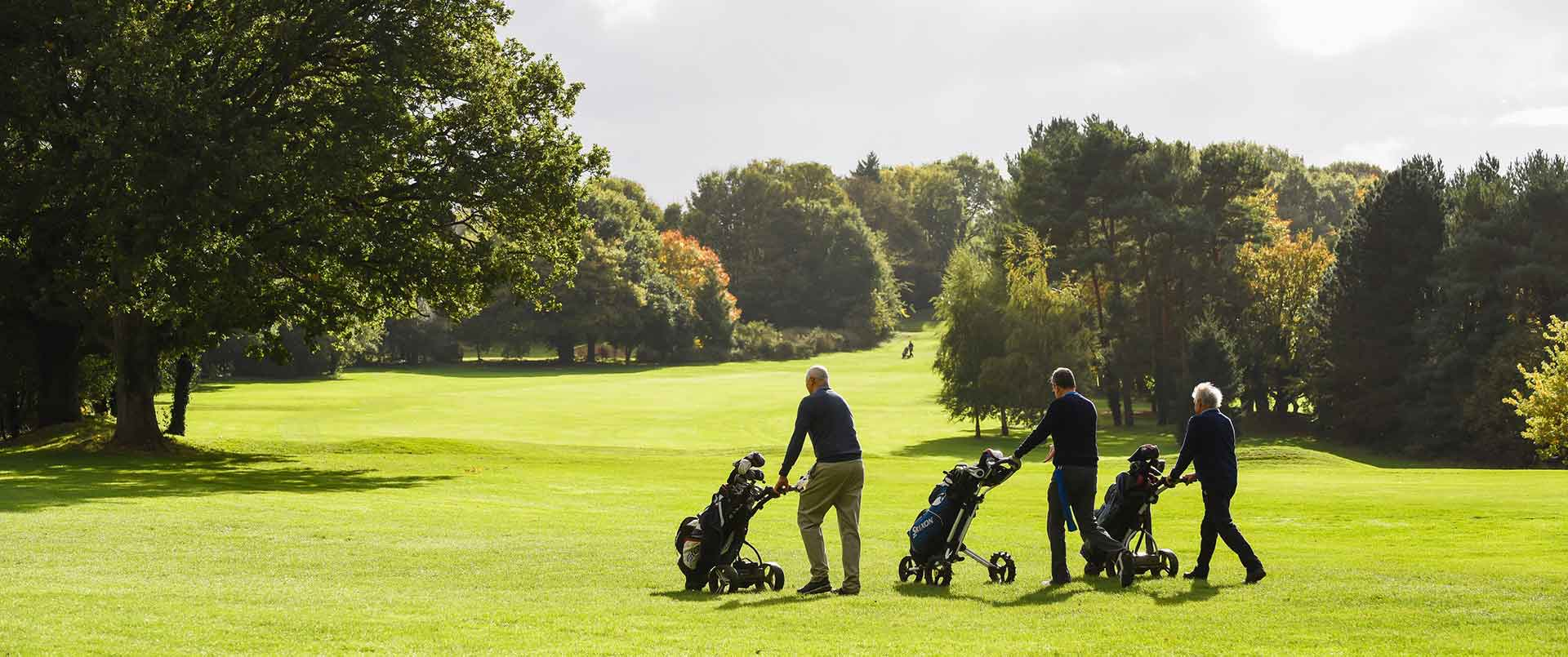 Royal Norwich Golfers at Hellesdon course