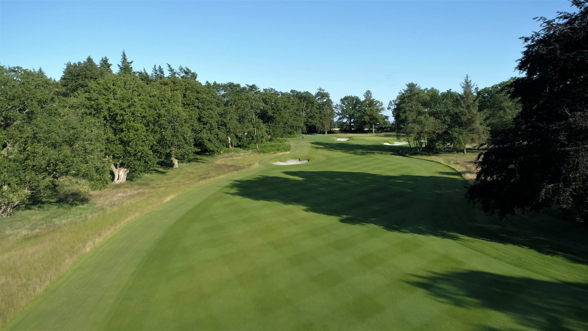 Royal Norwich new 1st fairway