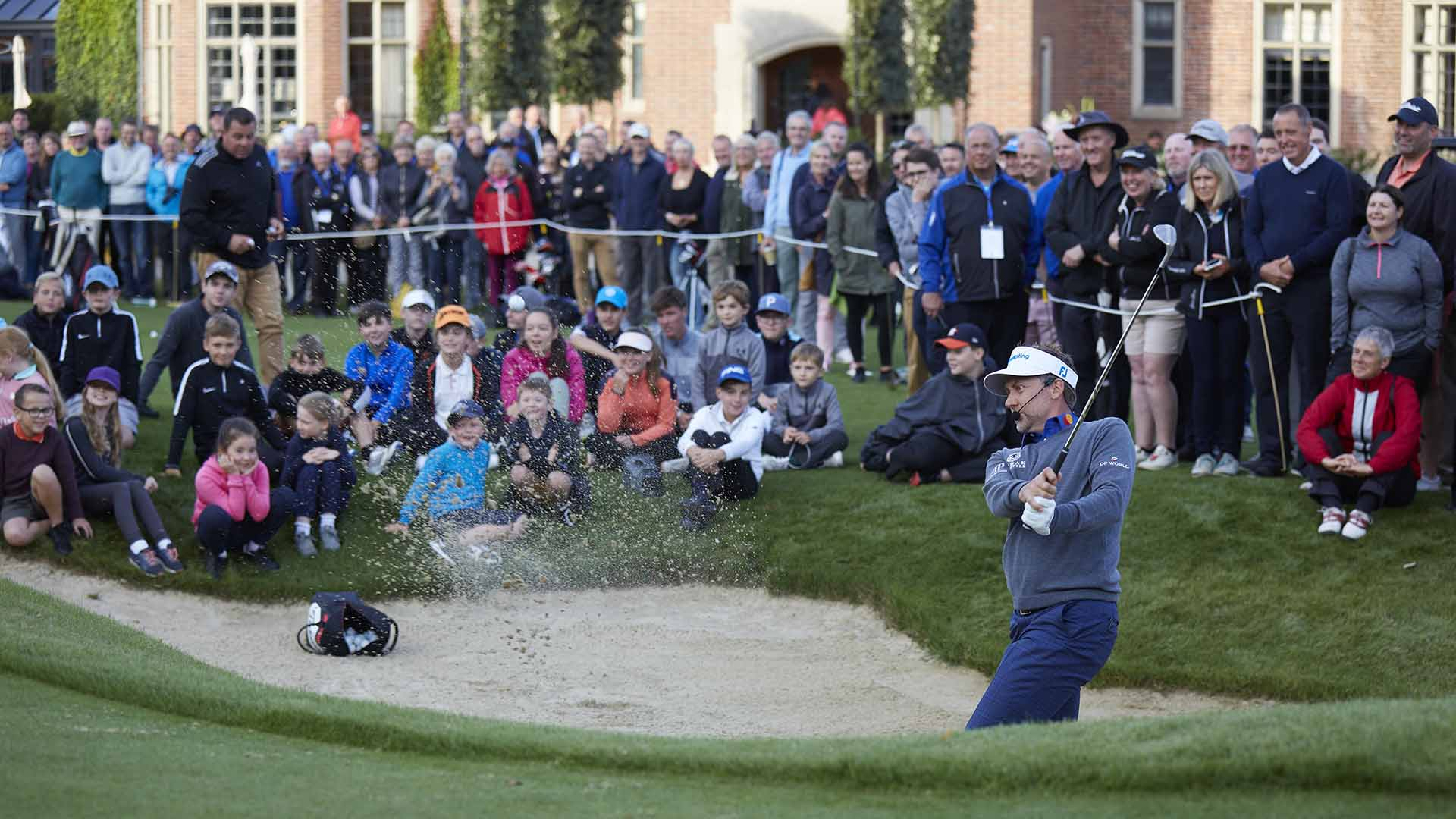 Ian Poulter opening Royal Norwich academy