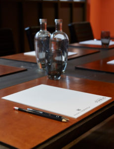 Conference and meeting hire